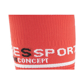 Compressport V2 - Calcetines Running - rojo